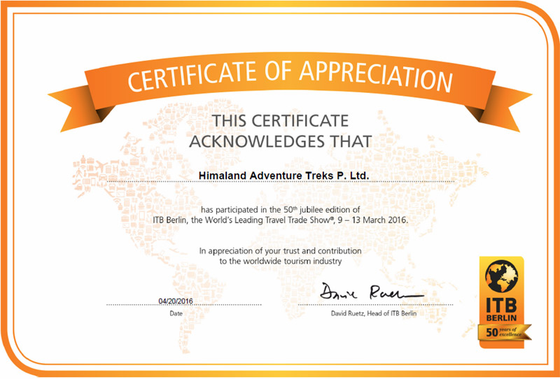 appreciation certificates