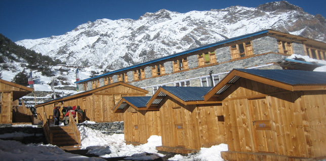 Trekking lodge in Annapurna region -  himaland.com