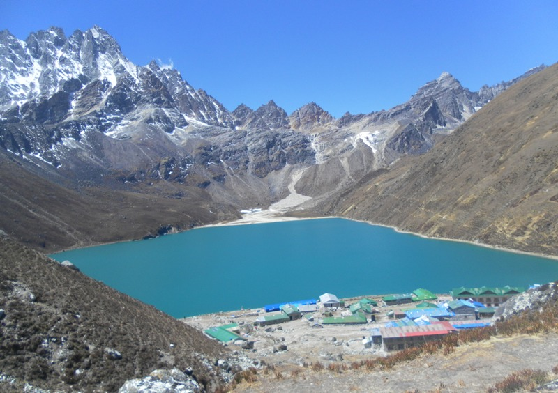 Gokyo lake and lodges -  himaland.com