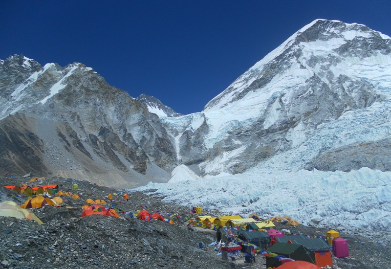 Everest base camp -  himaland.com