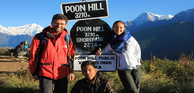 Popular View Point, Poon HIll -  himaland.com