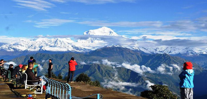 Himalayan Panoramic View from Poon Hill -  himaland.com