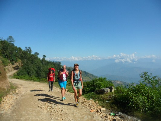 Easy Hiking on Nagarkot Route -  himaland.com