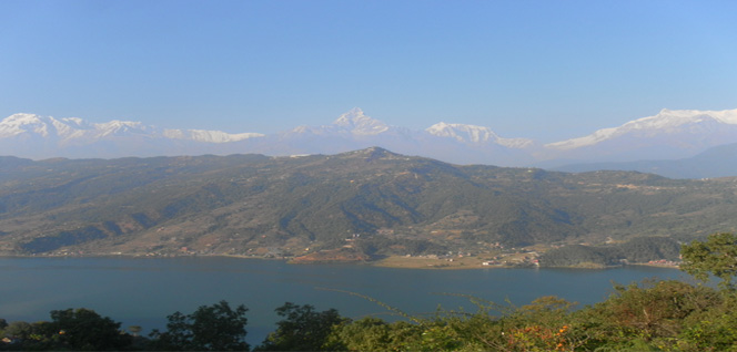 Phewa Lake, Annaourna, Machhapuchhre, .. mountains -  himaland.com