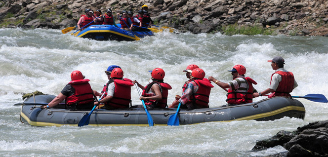 Fun Time Rafting Rapid -  himaland.com