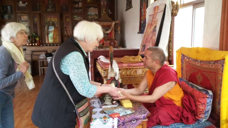 Blessing from Monk -  himaland.com