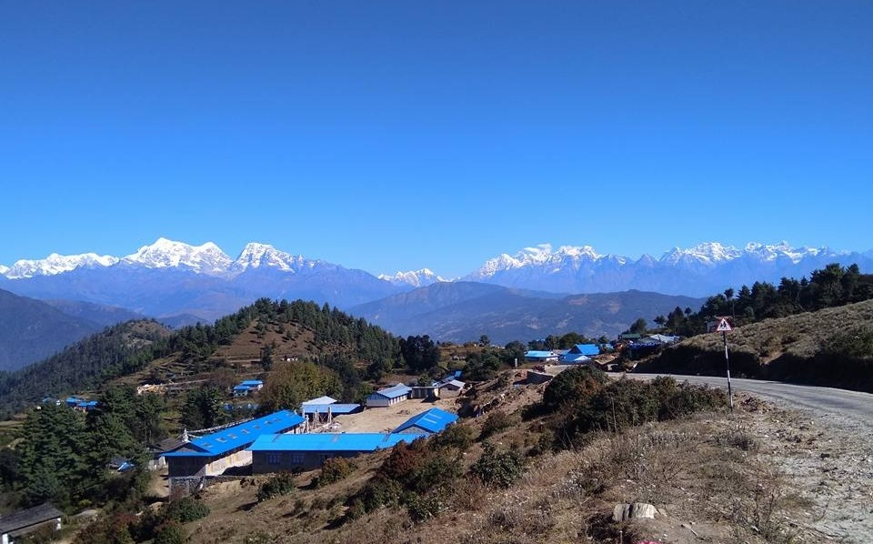 Road to Patale for Everest View -  himaland.com