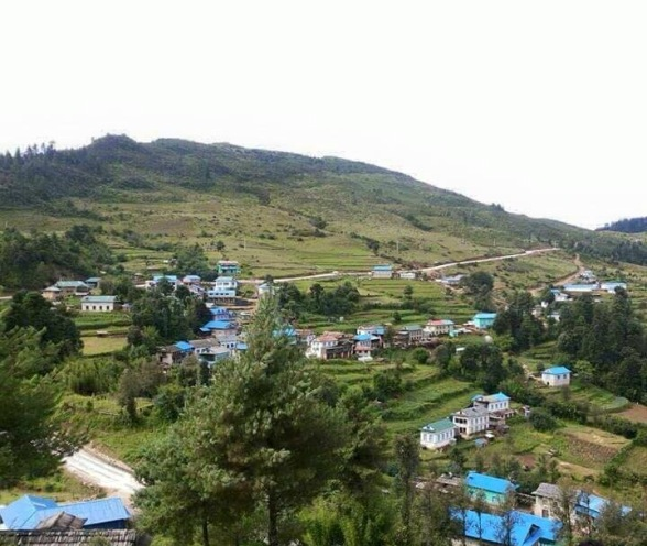 Patale village in summer, Nepal -  himaland.com
