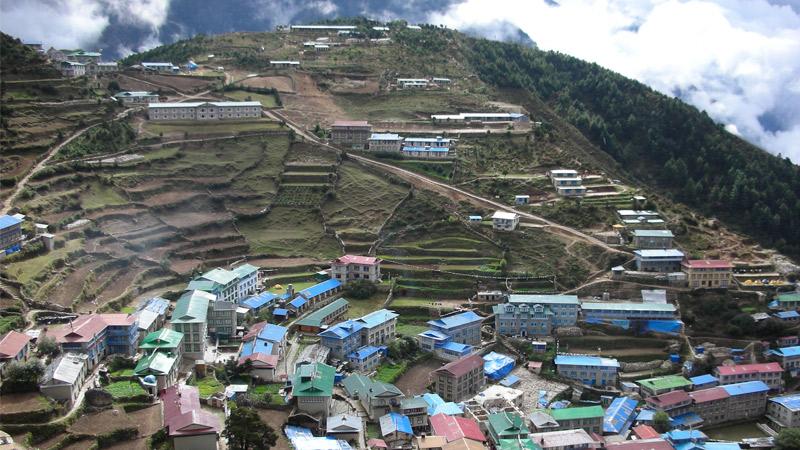 Namche, Sherpa village -  himaland.com