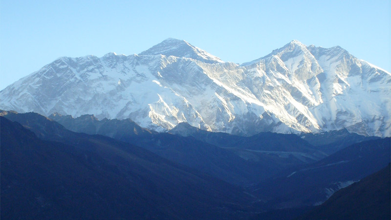Majestic View of Mt. Everest -  himaland.com