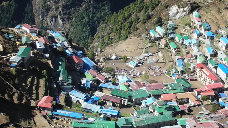 Namche Bazar -  himaland.com
