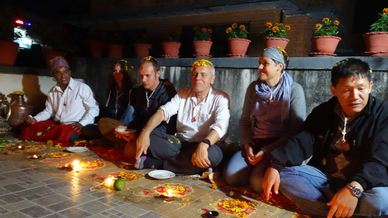 Mha Puja Ritual in Kathmandu -  himaland.com