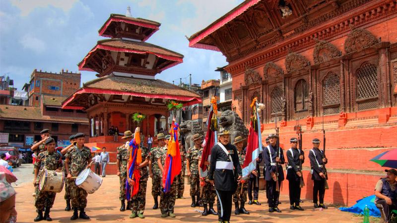 Dashain Phulpati Procession -  himaland.com